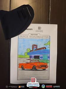 2020 05 Cars and Coffee Driveway