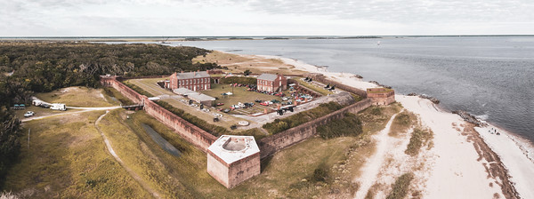 2021 Fort Clinch - Cars and Cannons 115 PANO