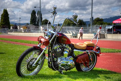 "Custom Chopper - Duncan, BC, Canada Visit our blog ""Classics On The Grass"" for the story behind the photo."