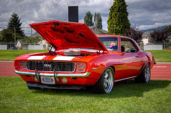Classic Camaro – Duncan, BC, Canada