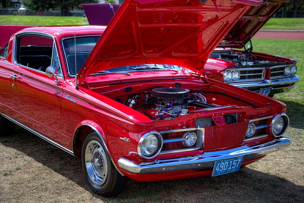 Classic Car - Plymouth Barracuda - Duncan, BC, Canada