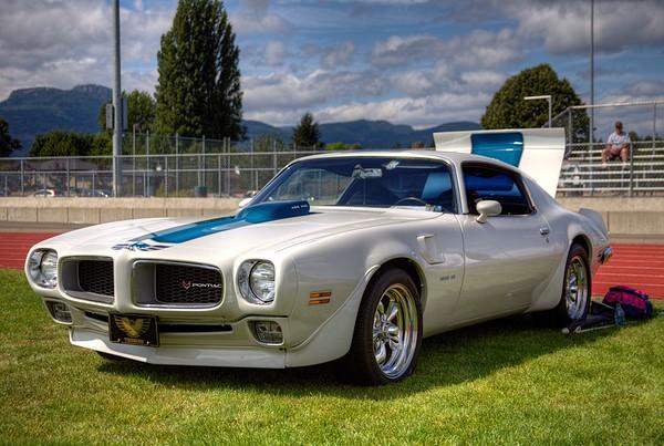 Classic Car - Pontiac Trans Am - Duncan, BC, Canada