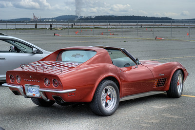 """Chevrolet Corvette (C3) - Vancouver Island, BC, Canada Please visit our blog """"The Deafening Sound Of Fury"""" for the story behind the photos."""