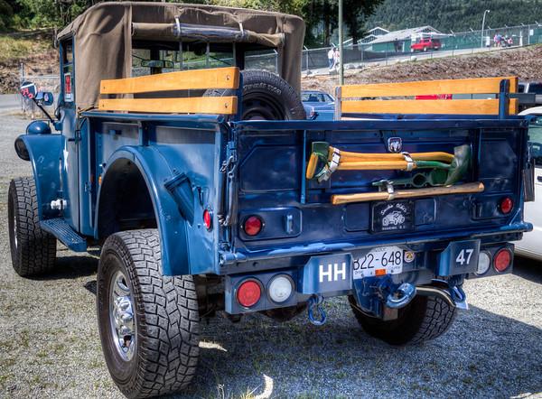Exhibit - Duncan Antique Truck Show 2013 - Cowichan Exhibition Grounds, Duncan, Cowichan Valley, Vancouver Island, BC, Canada