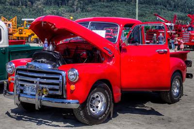 "Exhibit - Duncan Antique Truck Show 2013 - Cowichan Exhibition Grounds, Duncan, Cowichan Valley, Vancouver Island, BC, Canada Please visit our blog ""Duncan Antique Truck Show 2013"" for the story behind the photos."