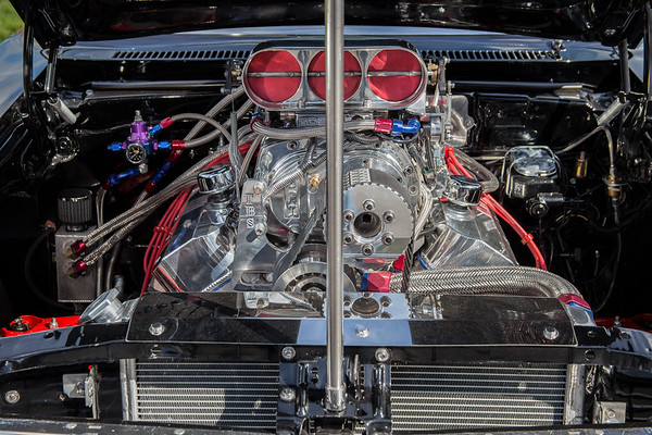 Blown Chevrolet Nova - Supercharged Nova - Cowichan Valley, Vancouver Island, British Columbia, Canada