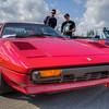 Fast Red Ferrari - Vancouver Island Motorsport Circuit - Cowichan Valley, Vancouver Island, British Columbia, Canada