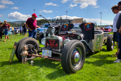 "Rat Rod - Beverly Corners Show and Shine 2015 - Duncan, Vancouver Island, British Columbia, Canada  Visit our blog ""Rat Rods On Parade"" for the story behind the photo."