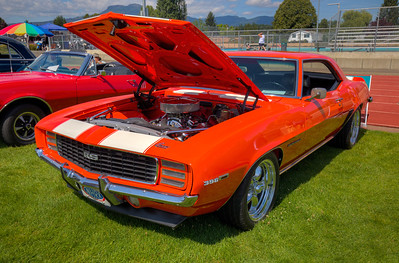 Custom Chevrolet Camaro - Beverly Corners Show and Shine 2015 - Duncan, Vancouver Island, British Columbia