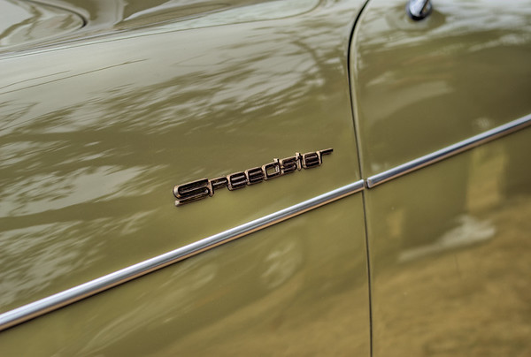 Classic Porsche Speedster - Queen Alexandra Hospital, Victoria, BC, Canada