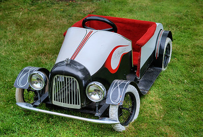 """Toy Pedal Car - Queen Alexandra Hospital, Victoria, BC, Canada Visit our blog """"Bright Red Sports Cars"""" for the story behind the photo."""