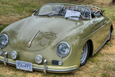 """Classic Porsche Speedster - Queen Alexandra Hospital, Victoria, BC, Canada Visit our blog """"Classic Porsches At The Gathering"""" for the story behind the photos."""