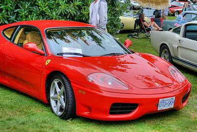 """Ferrari - Queen Alexandra Hospital, Victoria, BC, Canada Visit our blog """"Exotic Cars"""" for the story behind the photo."""