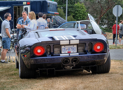 """Ford GT - Queen Alexandra Hospital, Victoria, BC, Canada Visit our blog """"Ford GT: An Earthbound Jet"""" for the story behind the photo."""