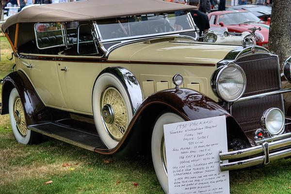 1930 Packard Tonneau Windshield Phaeton - Model 740 - Queen Alexandra Hospital, Victoria, BC, Canada