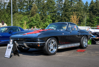 """Show 'n Shine - Vette to Victoria - Victoria, BC, Canada Visit our blog """"Black As Knight"""" for the story behind the photos."""