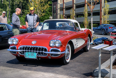 "Show 'n Shine - Vette to Victoria - Victoria, BC, Canada Visit our blog ""Nostalgia Personified"" for the story behind the photo."