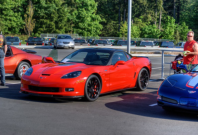 """Show 'n Shine - Vette to Victoria - Victoria, BC, Canada Visit our blog """"Corvette ZR1: A Beautiful Champion"""" for the story behind the photo."""