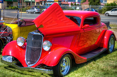 "Classic Ford Hot Rod - Duncan, Vancouver Island, BC, Canada Visit our blog ""She's Got Legs"" for the story behind the photo."