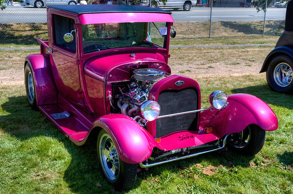 Classic Ford Hot Rod - Duncan, Vancouver Island, BC, Canada