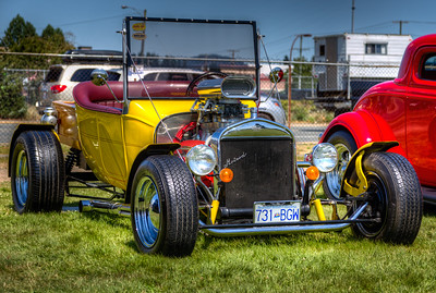 "Classic Ford Hot Rod - ""Ford T Bucket"" - Duncan, Vancouver Island, BC, Canada Visit our blog ""A Bucket Of A Different Type"" for the story behind the photo."