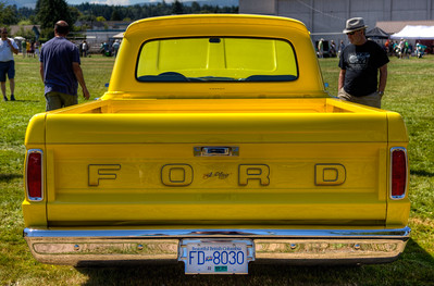 Classic Custom Ford Pickup Truck - Duncan, Vancouver Island, BC, Canada