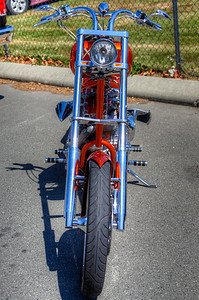 "Custom Chopper - Duncan, Vancouver Island, BC, Canada Visit our blog ""Rolling Thunder, Rolling Art"" for the story behind the photo."