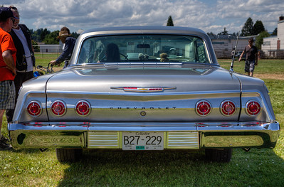 Car Show - Duncan, Vancouver Island, British Columbia, Canada