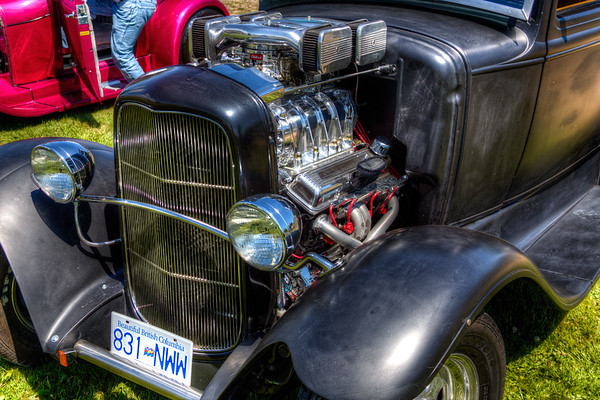 Supercharged Hot Rod - Cowichan Valley, Vancouver Island, British Columbia, Canada
