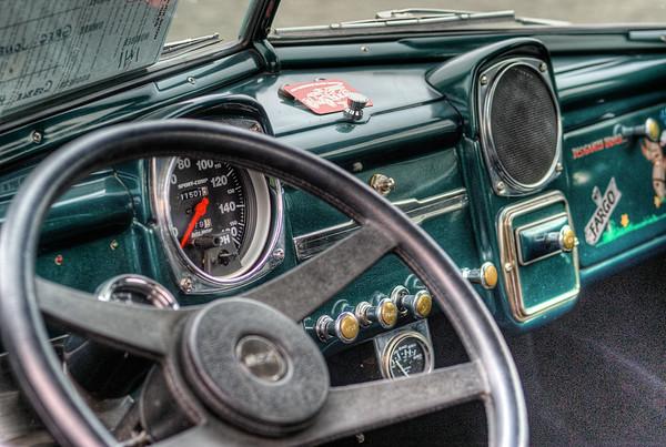Antique Fargo Pickup Truck - Circa 1950's - Cowichan Valley, BC, Canada