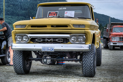 """1960 GMC Custom 4x4 - Cowichan Valley, BC, Canada Visit our blog """"Hit The Road Truckin'!"""" for the story behind the photo."""