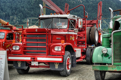 """1974 Kenworth LW - Cowichan Valley, BC, Canada Visit our blog """"All About Semi's"""" for the story behind the photo."""