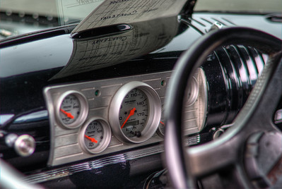 """Truck Interior - Cowichan Valley, BC, Canada Visit our blog """"Hit The Road Truckin'!"""" for the story behind the photo."""