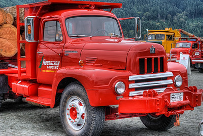 """International R-200 Semi - Cowichan Valley, BC, Canada Visit our blog """"All About Semi's"""" for the story behind the photo."""