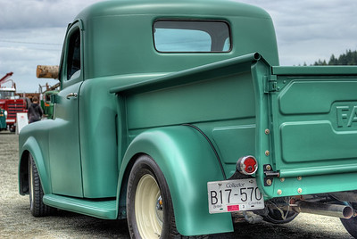 """Antique Fargo Pickup Truck - Circa 1950's - Cowichan Valley, BC, Canada Visit our blog """"One Hot Fargo"""" for the story behind the photo."""