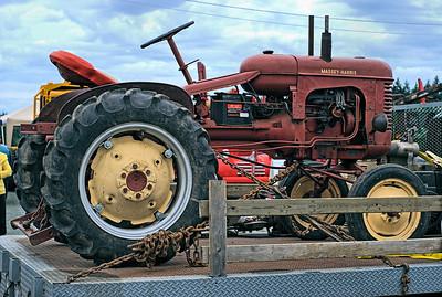 """Massey-Harris Antique Tractor - Cowichan Valley, BC, Canada Visit our blog """"Trucks & Tractors"""" for the story behind the photo."""