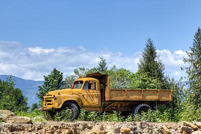 Rusty Truck - Courtenay, Vancouver Island, British Columbia, Canada