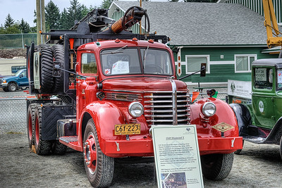 """1949 Diamond T - Cowichan Valley, BC, Canada Visit our blog """"Hit The Road Truckin'!"""" for the story behind the photo."""