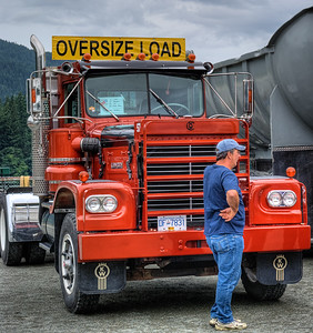 "1974 Kenworth LW - Cowichan Valley, BC, Canada Visit our blog ""All About Semi's"" for the story behind the photo."