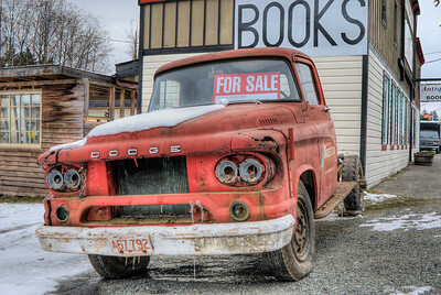 """1958 Dodge Truck Visit our blog """"Dodging The Wrecker"""" for the story behind the photo."""