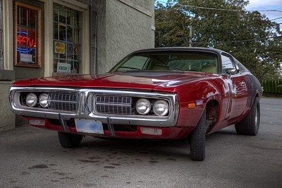 "1972 Dodge Charger Limited Edition 440 - Vancouver Island, BC, Canada Visit our blog ""1972 Dodge Charger Limited Edition 440"" for the story behind the photo."