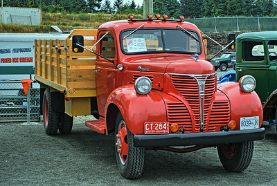 """1946 Fargo - 3 Ton Special - Cowichan Valley, BC, Canada Visit our blog """"Beauty In Age"""" for the story behind the photo."""