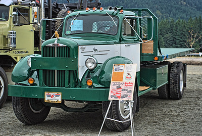 """Mack A-40 - Cowichan Valley, BC, Canada Visit our blog """"Trucks & Tractors"""" for the story behind the photo."""