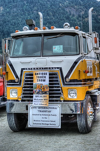 """1979 International COE - Cowichan Valley, BC, Canada Visit our blog """"All About Semi's"""" for the story behind the photo."""