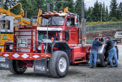 "1965 Kenworth Semi - Cowichan Valley, BC, Canada Visit our blog ""All About Semi's"" for the story behind the photo."