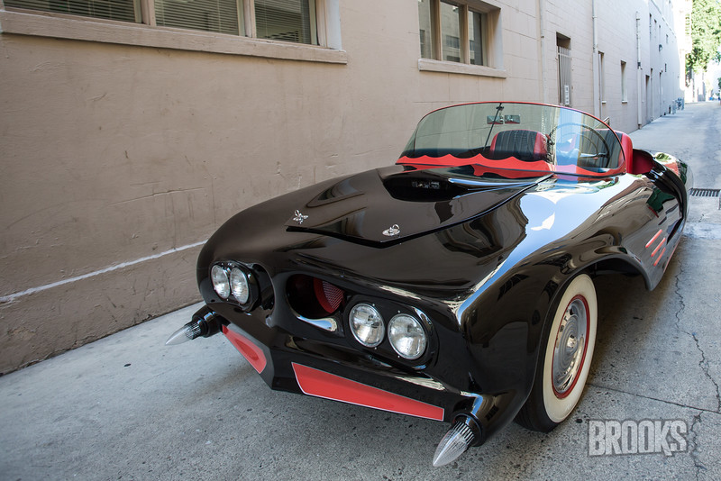 Final shots of Batmobile