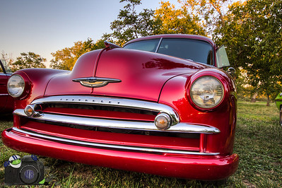 Red Chevy Coupe