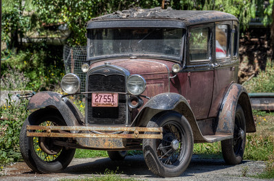 Antique Ford - Four Acres of Rust - Sooke, Vancouver Island, British Columbia, Canada