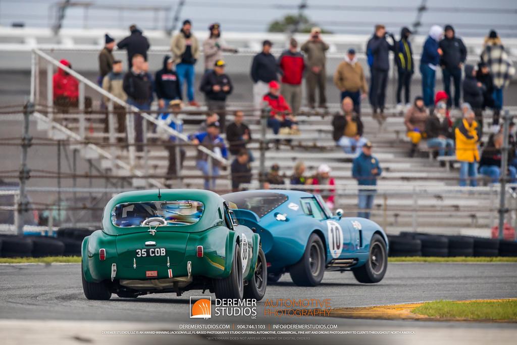 2019 HSR Classic 24 by IMSA - Daytona - Shelby Cobra Daytona and Coupe