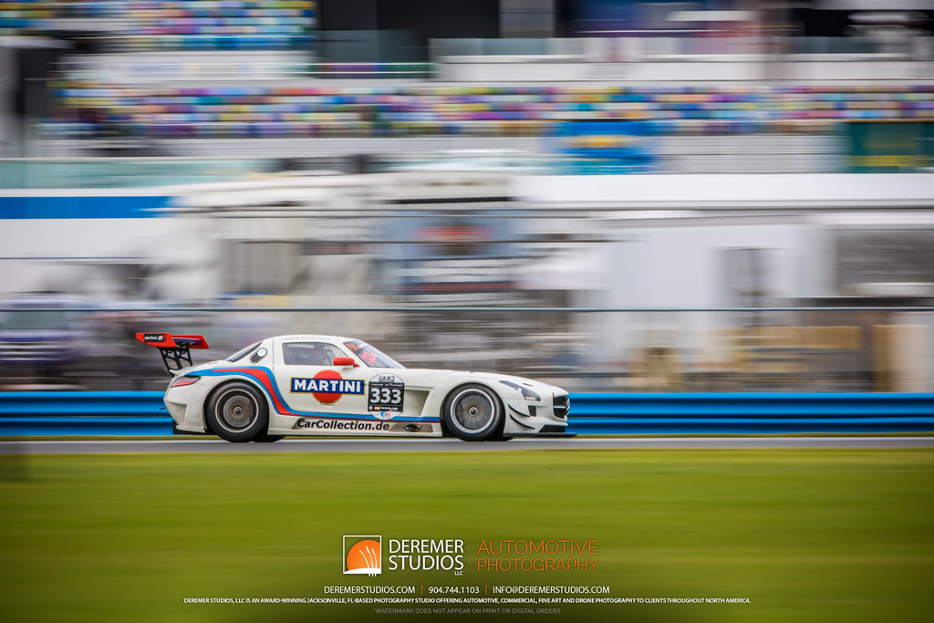 2019 HSR Classic 24 by IMSA - Daytona - Mercedes Martini Gullwing